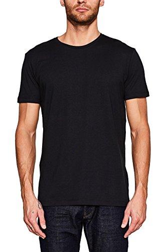 ESPRIT Herren T-Shirt 2er Pack 127EE2N003, Schwarz (Black 001), Small Preisvergleich