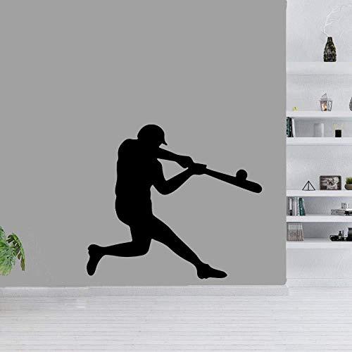 Wandsticker Baseball Sport Decor Extremsport Pvc Wohnzimmer Das Schlafzimmer 47cm * 41.3cm