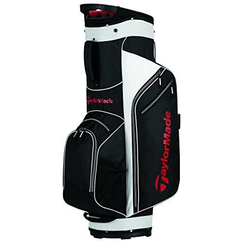 TaylorMade Golf 2017TM Warenkorb Golf Tasche 5.0, Herren, Golf Bag, schwarz/weiß/rot