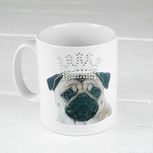 pug-diamante-crown-mug-cup-rhinestone-crystal-gift-dog-lover