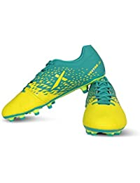 Vector X TRIUMP Football Shoes (Lemon Yellow-Sea Green)