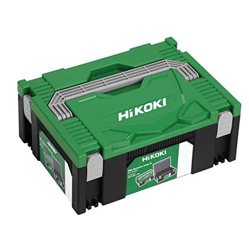 Hitachi Boîte à outils HIT-System Case II, Vert/Noir