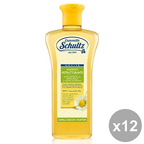 Set 12 SCHULTZ Shampoo Ristrutturante Camomilla 250 Ml. Prodotti per capelli
