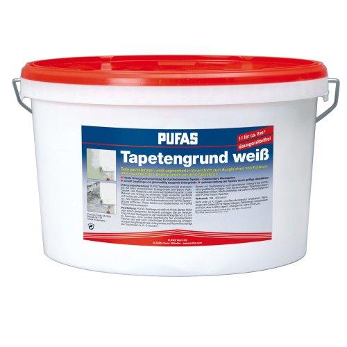 Pufas Tapetengrund weiss 10 Liter