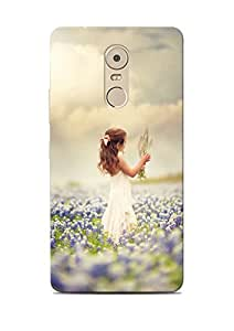 Print Station Printed Back Cover For Lenovo Vibe K6 Note