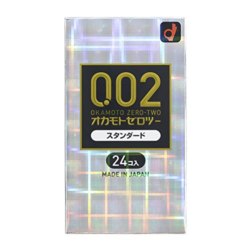 OKAMOTO CONDOMS 0.02 Excellent Ultra Thin Condom - 24 pieces Made In Japan