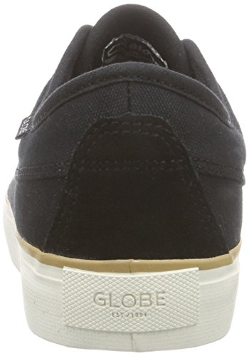 Globe Moonshine Unisex-Erwachsene Sneakers Schwarz (10046 black/white)
