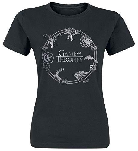 T-Shirt schwarz S ()
