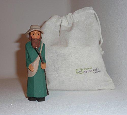 Pilger Hüte (Lotte Sievers-Hahn Pilger mit Hut mit Baumwollbeutel)