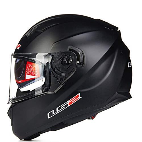 Casco Integrale Double Lens Off Road Casco Anti Fog Antipolvere Casco Moto da Strada Casco Modular Racing Anti Collision Caschi da Motocross