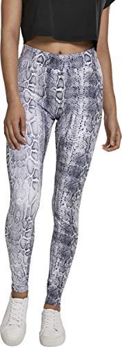 Urban Classics Damen Animal Print Leggings, Farbe Snake, Größe: S
