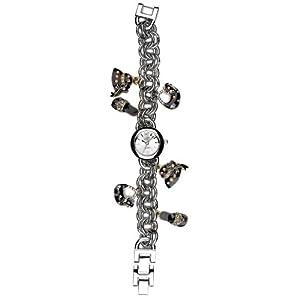 Eton 2945L-BK – Reloj analógico para Mujer de Otros Materiales Plata