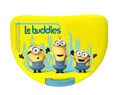 Kinder Brotdose / Lunchbox / Sandwich Box – Minions aus Kunststoff BPA Free – tolles Geschenk für Mädchen und Jungen (BMi1)