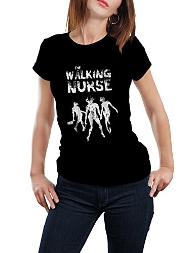 Camiseta The walking nurse (Mujer) (S a XL)