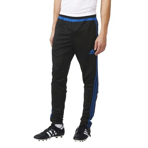 adidas men's leisurewear tracksuit, Men, Torwarthose Tiro15 Training Pants, Black/eqtblu