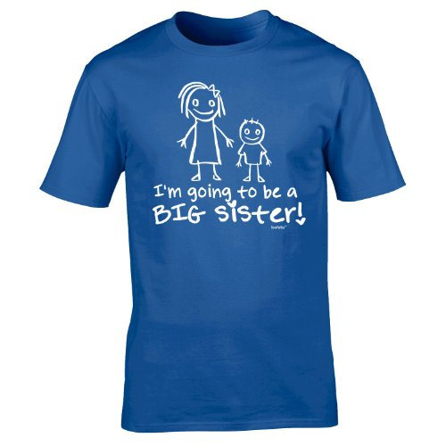 Im Going To Be A Big Sister TShirt T-Shirt Tee Kids Unisex Childrens Baby Sis