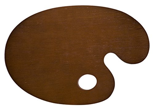 lienzos-levante-1110102001-paleta-de-pintor-ovalada-fabricada-en-madera-contrachapada-lacada-color-n