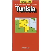 Carte routière : Tunisie
