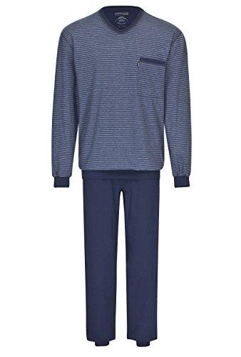Herren Schlafanzug lang Farbe/Größe: Blau 106