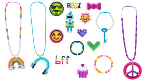 Perler Snap-Ins Fun Fusion Fuse Bead Activity Kit-Trendy Icons