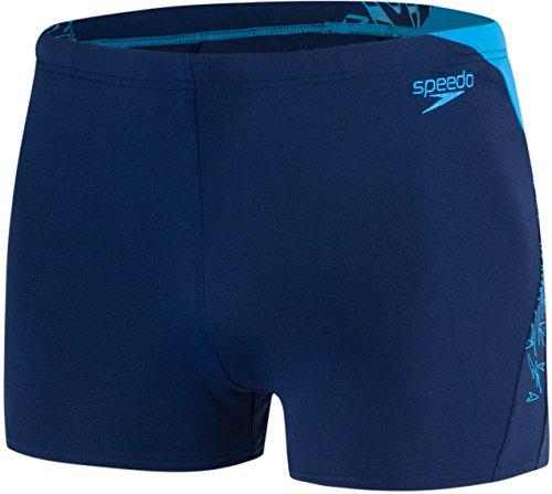 Speedo 810855C577 Short de Bain Homme, Marine/Bleu Windsor, FR : XL (Taille Fabricant : 38)