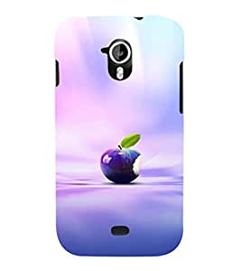 EPICCASE blue apple Mobile Back Case Cover For Micromax A116 Canvas HD (Designer Case)