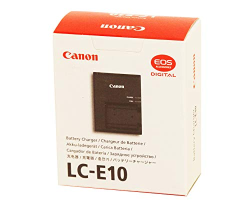 Canon LC E10 Compact Battery Charger for LP E10 Battery Pack