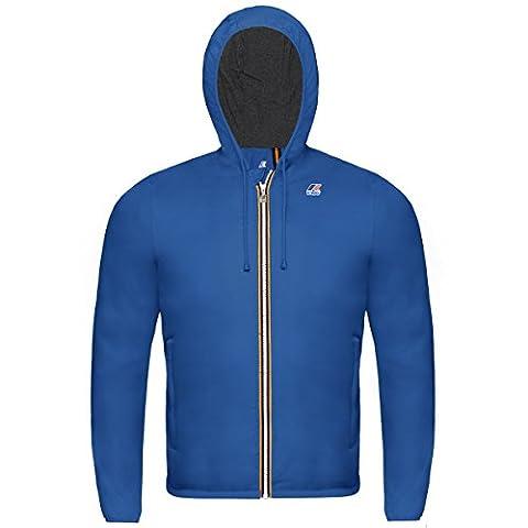 K-Way baby jacket Jacques Jersey K007A10 618 blu