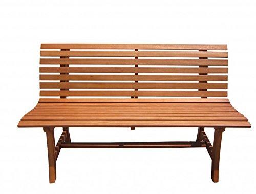 Vamundo Gartenbank Eukalyptus FSC-Holz, Geölt