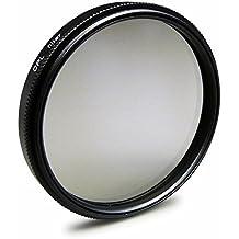 Filtro polarizador CPL 77 mm para Nikon D300S | D3S | D4 | D800 - Canon EOS 5D Mark II - Sony Alpha 850 | Alpha SLT-99V y mucho más + High-Tech paño de limpieza