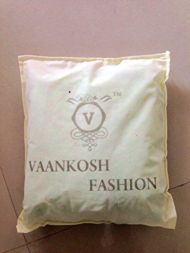 vaankosh fashion red velvet designer partywear dress materials for women