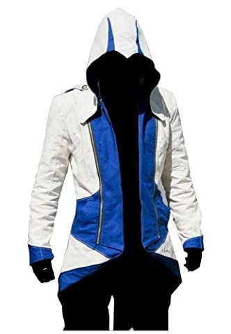 Assassin Creed 3 Connor Costume - WitBuy Costume Veste à capuche-indépendamment WitBuy conçu