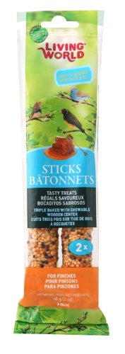 Living World Finch Honig Treat Sticks,-/Bratenspritze (Insel Honig)