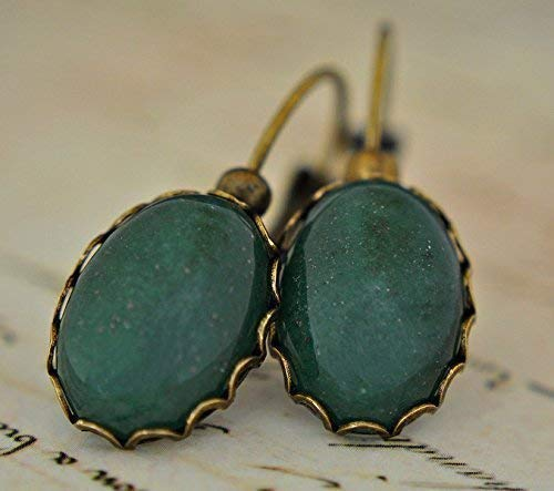 BESTSELLER Vintage Jade Ohrringe II Edelstein