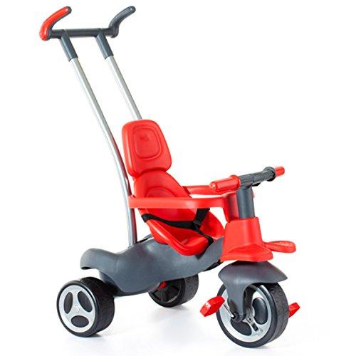 Unbekannt Urban Trike Easy ControI mitwachsendes Dreirad ab 10 Monaten in rot • Baby Kinder Dreirad Kinder Fahrzeug Rutscher