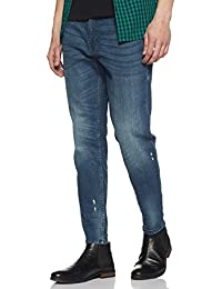 Amazon Brand - Inkast Denim Co. Men's Carrot Fit Stretchable Jeans