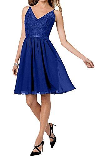 Toscana sposa un-spalla più strati Chiffon un'ampia Party ball lunghezza abiti da sera abiti da sera mode blu royal