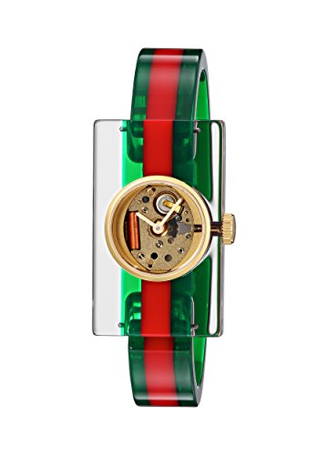 GUCCI PLEXI WATCH FASHION SHOW COLLECTION YA143501 (Web Gucci)
