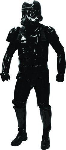 Star Wars Shadow Stormtrooper Supreme original lizenziertes Premium Kostüm - Größe - Trooper Shadow Kostüm