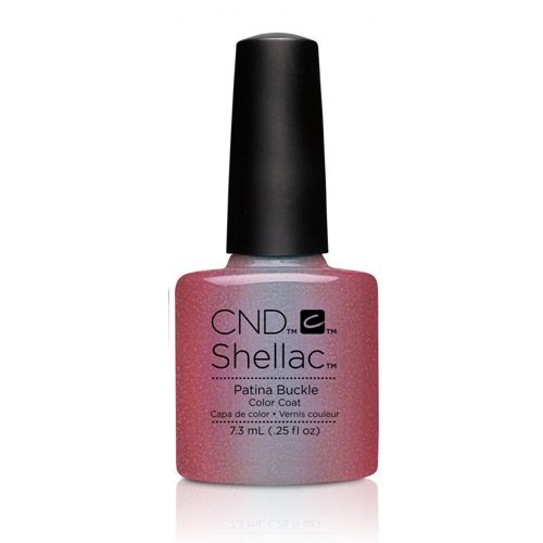 CND Shellac Power Polish - Fall 2016 Craft Culture Collection - Patina Buckle - 0.25oz / 7.3ml by CND Cosmetics