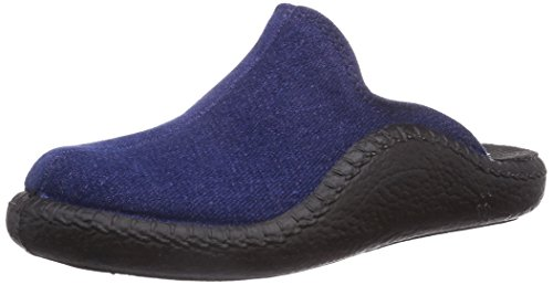 Romika Mokasso 110 Unisex-Kinder Pantoffeln Blau (blau 500)