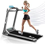 UrbanTrek™ TD-M4 (2.0HP) Ultra-Compact Foldable Treadmill (100% Installed)【LED Display   Smartphone App   Rubber Cushion】 Running Machine for Max Pro-Workout for Home Use by PowerMax Fitness®