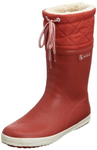 Aigle Unisex-Kinder Giboulée  Gummistiefel Rot (rouge / blanc 8) 38 EU