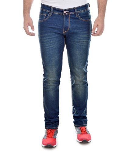 Ben Martin Men's Relaxed Jeans (BMW7-JJ-3-GRN_32, Blue, 32)