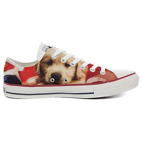 Converse All Star Chaussures Personnalisé et Imprimés (Produit Artisanal) Slim Puppy