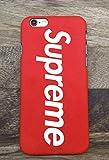 Ruid Coque iPhone 6/6S Plus Sup Logo, Coque de Protection avec Absorption de Choc et Anti-Scratch Non Slip Housse Etui pour iPhone 6/6S Plus - Rouge