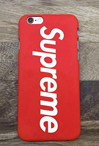 Toxdi Sup Logo Funda iPhone 7/8, Hot Fashion Sup Logo iPhone 7/8 Funda Case  Cover, Funda for iPhone 7/8 Phone Funda Cover (Rojo)