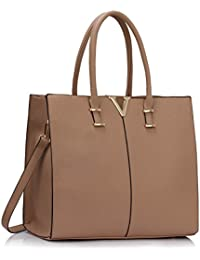 LeahWard® Damen Groß Mode Essener Berühmtheit Tragetaschen Damen Qualität Schnell verkaufend Modisch Handtaschen CWS00319B CWS00319C CWS00319