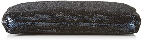 XYXYX - Sequins Bag, Sacchetto Donna Blu (Blu scuro e)