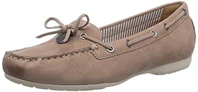 Tamaris 24607, Chaussures bateau femme - Beige (Nude 250), 38 EU